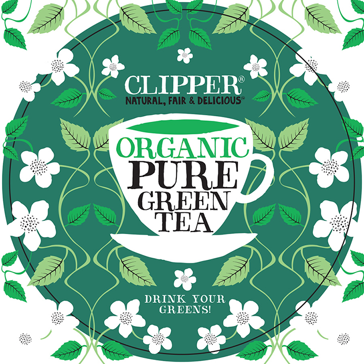 clipper tea Mockup artwork