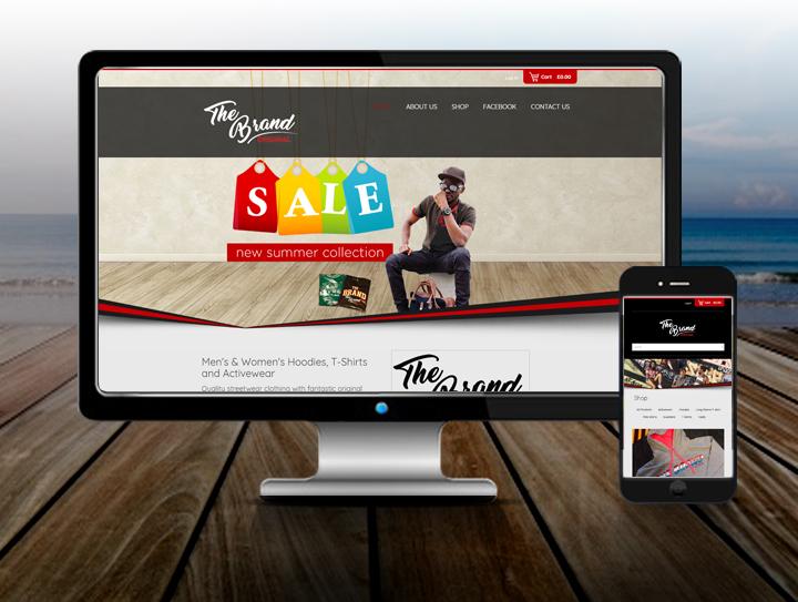 web design havant streetwear web design