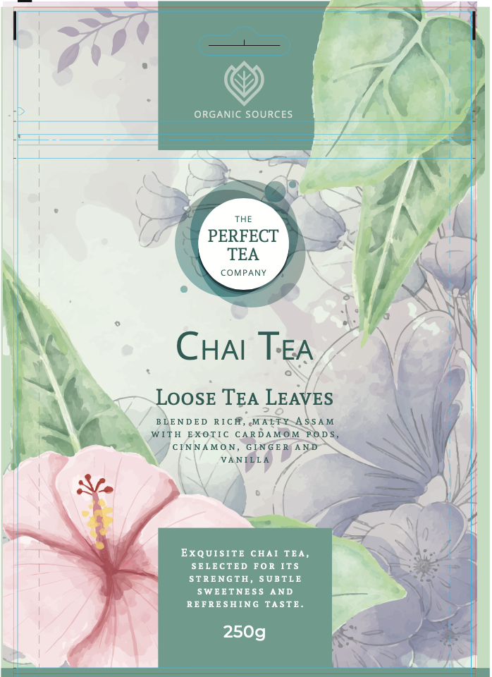 Tea Pouch Packaging Design